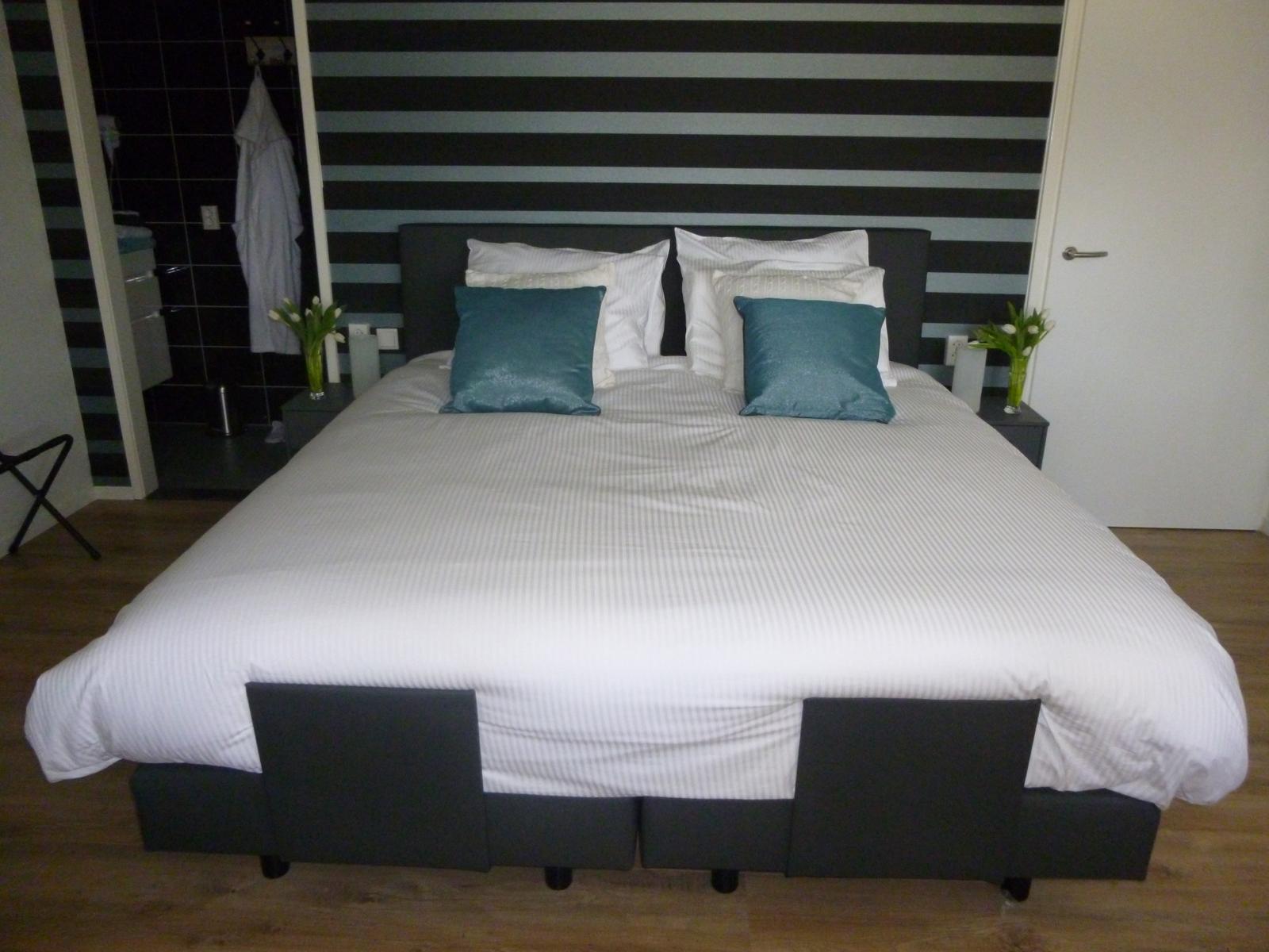 Kamer 1 bedden - Bed and Breakfast Zwolle De Langenlee