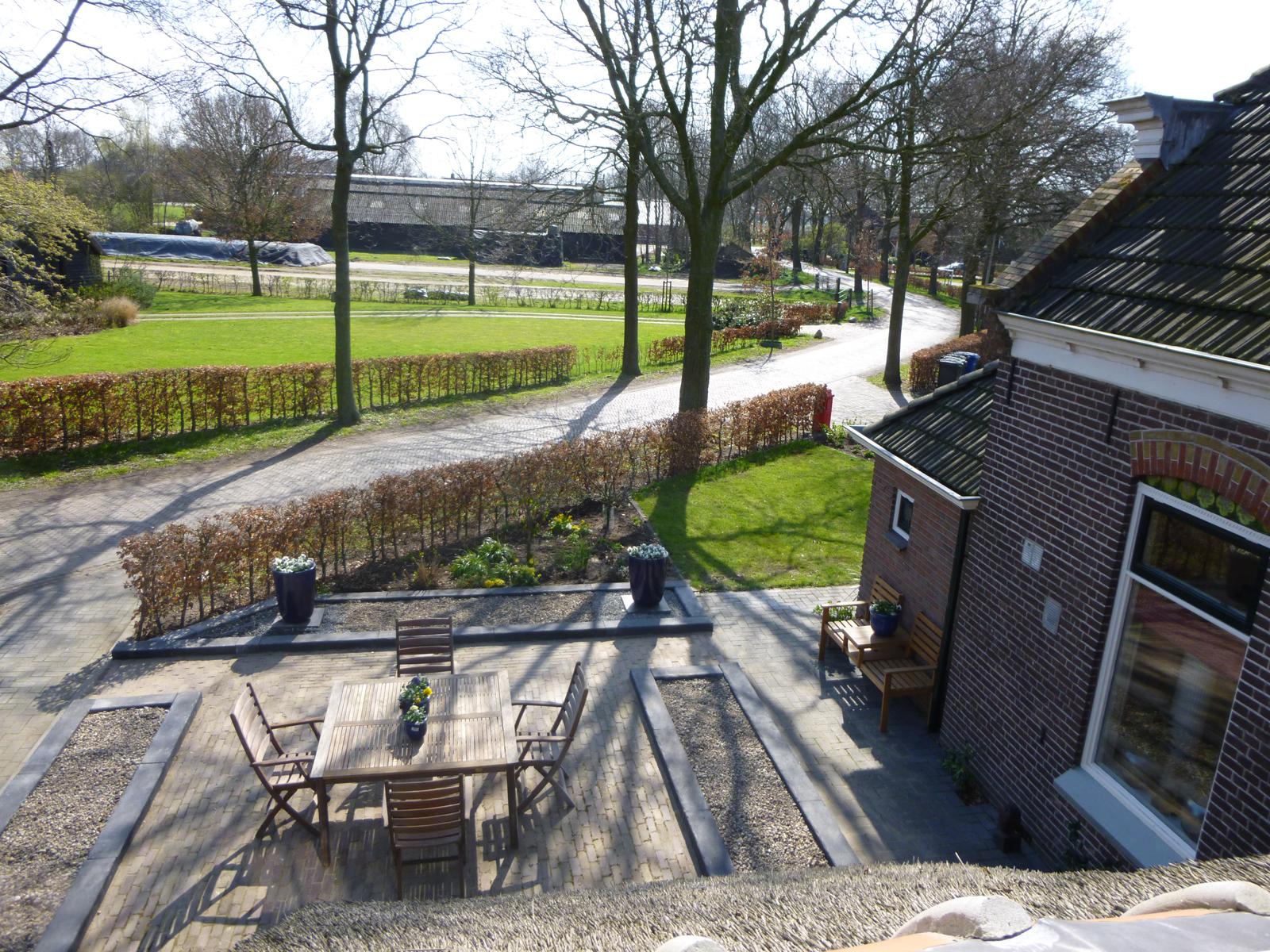 Kamer 1 buiten - Bed and Breakfast Zwolle De Langenlee