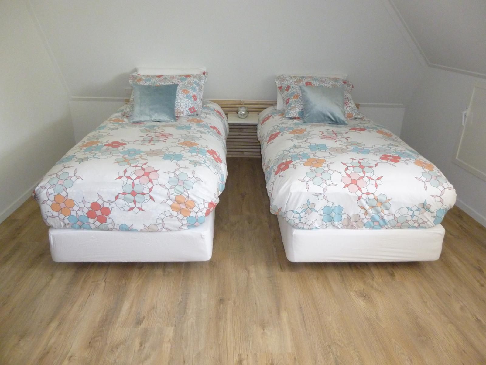 Kamer 2 bedden - Bed and breakfast Zwolle De Langenlee