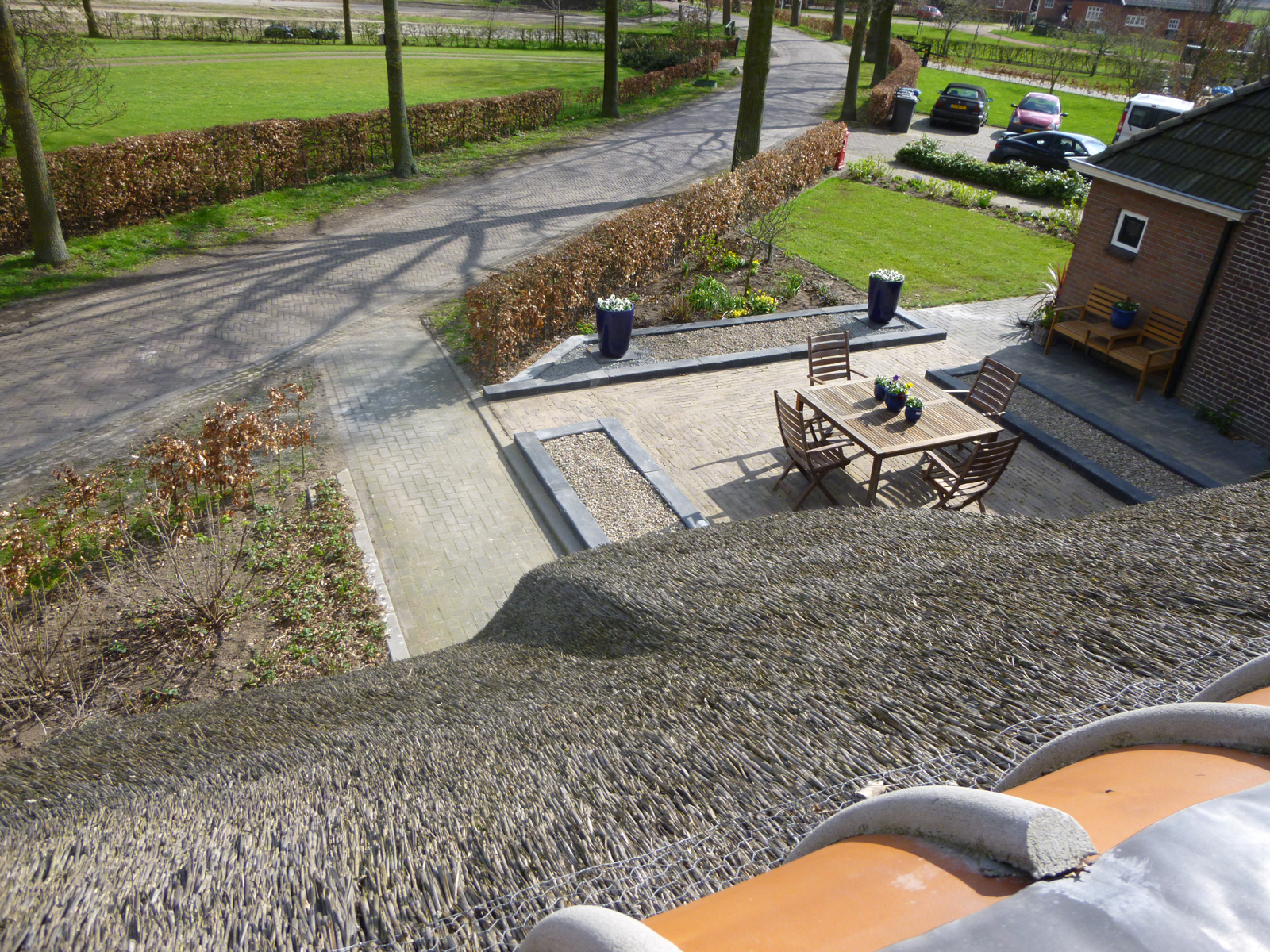 Kamer 2 buiten - Bed and breakfast Zwolle De Langenlee